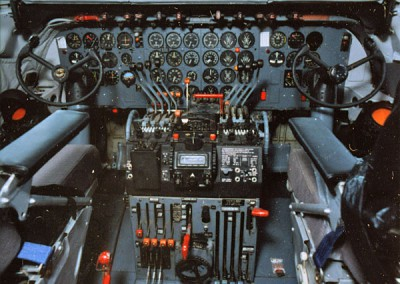 Cockpit - controls systems