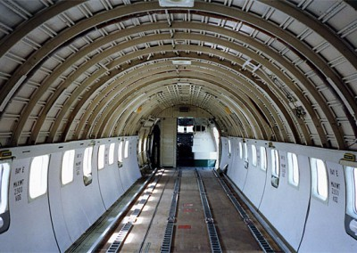 Freighter cabin after overhaul